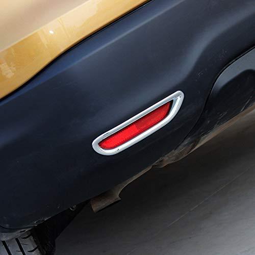 per Qashqai J11 2014-2016 Cornici Cromate dei Retronebbia Plastica ABS 2 Pezzi