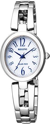 [シチズン] 腕時計 レグノ ソーラーテック レディス ブレスレット KP1-616-13 シルバー