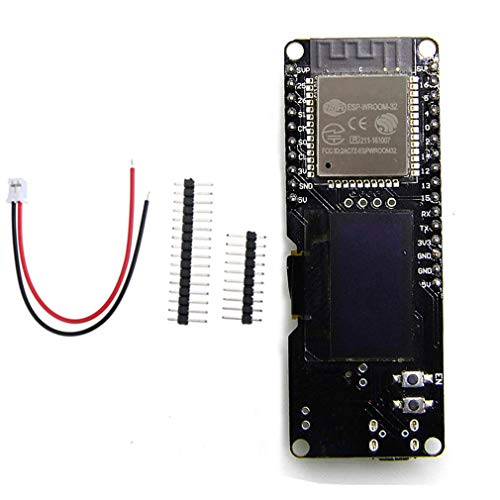 "HiLetgo 0.96"" OLED Display ESP-WROOM-32 ESP32 ESP-32 WIFI-BT for Arduino AP STA"