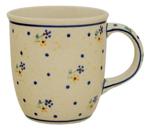Original Bunzlauer Keramik Kaffeebecher/Teebecher V=0,35 Liter im Dekor 111