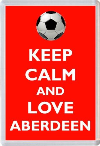 Keep Calm and Love Aberdeen - Novelty Jumbo Fridge Magnet Football/FC Themed