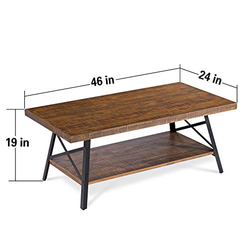 Olee-Sleep-46-Cocktail-Wood-Coffee-Table-with-Natural-Wood-Top-Dura-Metal-LegsBasic-Item-at-Home-Rustic-Brown-18TB01S