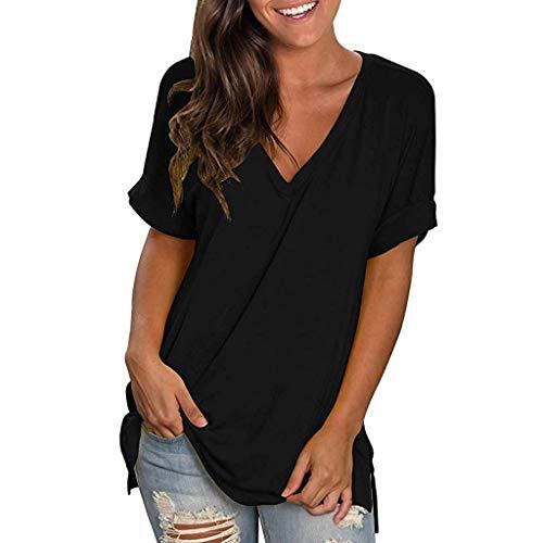t-Shirt Femme Blanc Noir Jaysis Tee Shirt Femme Sexy Ete...