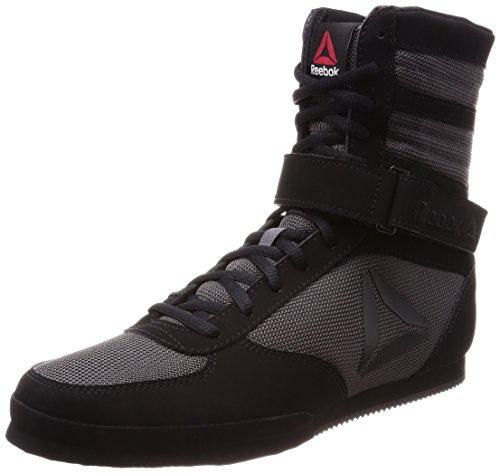 Reebok Herren Boxing Boot- Buck Boxschuhe, Schwarz (Black/Ash Grey 000), 46 EU