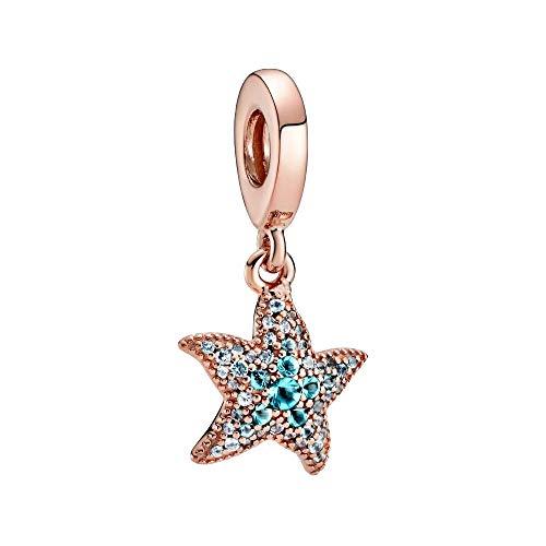 Pandora Sparkling Starfish - Ciondolo a forma di dangle,