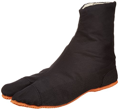 Ninja Schuhe/Kinder, EUR 34 (22.5cm) Jikatabi Stiefel, Schuhe Rikio Ninja-Tabi! Schwarz! + Reisetasche