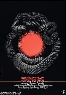 rosemary's baby polish poster