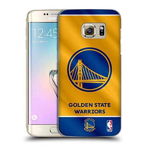 Head Case Designs Ufficiale NBA Banner 2019/20 Golden State Warriors Cover Dura per Parte Posteriore Compatibile con Samsung Galaxy S7 Edge