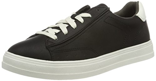 ESPRIT Damen Sidney Lace up Sneakers, Schwarz (001 Black), 39 EU