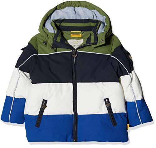 Steiff Baby-Jungen Anorak Jacke, Blau (Marine|Blue 3032), 80
