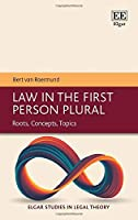 Law in the First Person Plural: Roots, Concepts, Topics (Elgar Studies in Legal Theory)