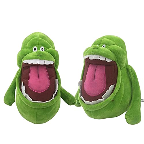 Anime Green Ghostbusters Plush 20Cm,Cute Soft Toys Ghost Stuffed Doll For Children Birthday Christmas Easter