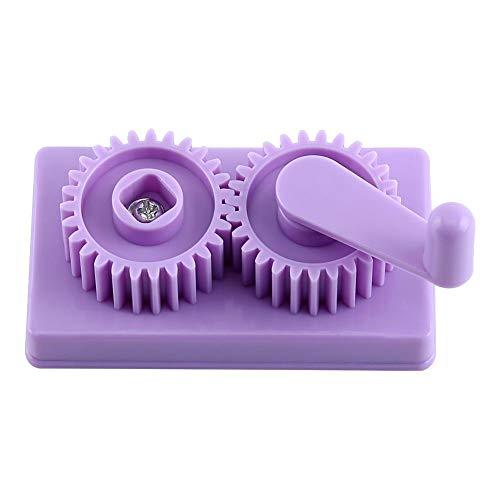 FTVOGUE Quilling-Crimper Maschine aus Kunststoff, handbetrieben, Papier-Crimpen, Basteln, Quilten, Kunst-Werkzeug für Kunstwerke und Sammelalben