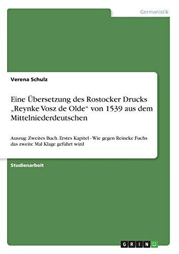 Eine Übersetzung des Rostocker Drucks