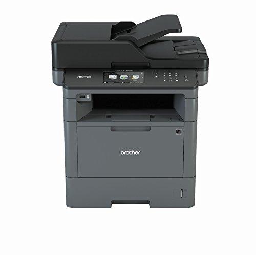 Brother MFC-L5750DW A4 MFP mono Laserdrucker (40 Seiten/Min., Drucken, scannen, kopieren, faxen, 1.200 x 1.200 dpi, Print AirBag für 200.000 Seiten)