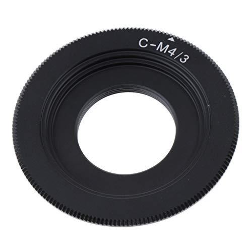 perfk C-M4 / 3オリンパス用レンズコンバーターアダプターリングE-M5マークII E-M10 PEN-F E-P5 E-P6 E-P7 E-PL5 E-PL7 E-PL8 E-PL9カメラアクセサリーキット