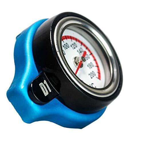 0.9Bar 1.1Bar 1.3 Bar Calotta termostatica Tappo serbatoio Coperchio serbatoio Temp Accessori auto (Color : Nero)