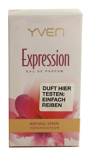 Yven Woman Expression Eau de Parfum 50ml, 1er Pack (1 x 50 ml)