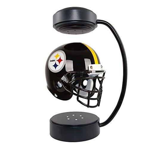 Pegasus Sports NFL Rotating Levitating Hover Helmet with LED Lighting, Pittsburgh Steelers