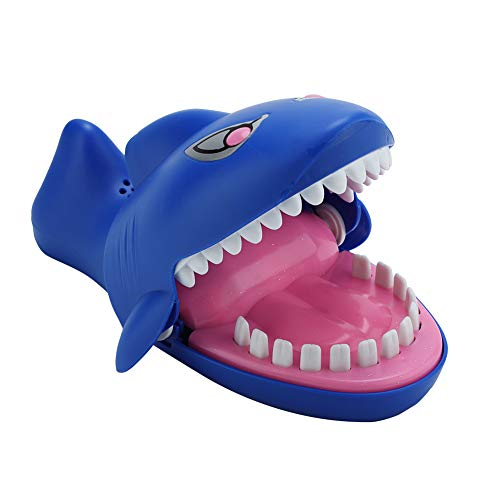 FTVOGUE Heikle Stromschlag Shark Biss Finger Spielzeug Trick Spiel Lustige Interaktive Kinder Spiel Familie Witz Spielzeug