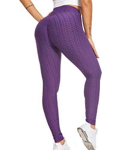 KIWI RATA Mallas Push up Mujer Leggins Deportivos Yoga Leggings de Cintura Alta Pantalones Deporte para Fitness Running