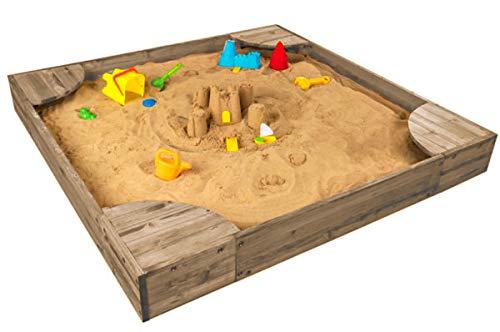 KidKraft Backyard Sandbox Gray