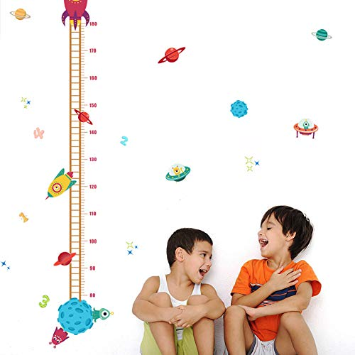 wall growth chart decal - 3