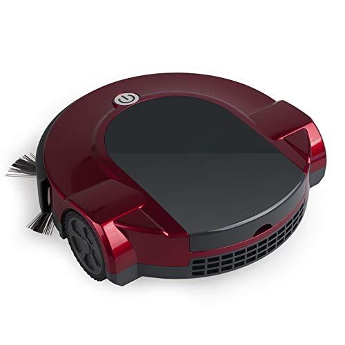 Tägliche Dekorationen Intelligenter Staubsauger Haushaltsfegen und Ziehen Automatische One-Touch-Steuerung Anti-Drop-Induktion Stummschaltung Energiesparender Energiespar-Kehrroboter