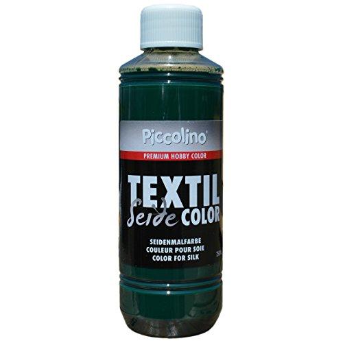 Piccolino Peinture de Soie Vert Mousse 250 ML – Couleur de Soie Textil Color – Couleur Textile Soie