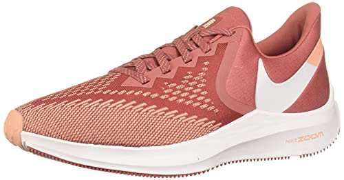 Nike Women's Trail Running Shoes, Multicolour Light Redwood White Pink Quartz 800, 5.5 UK