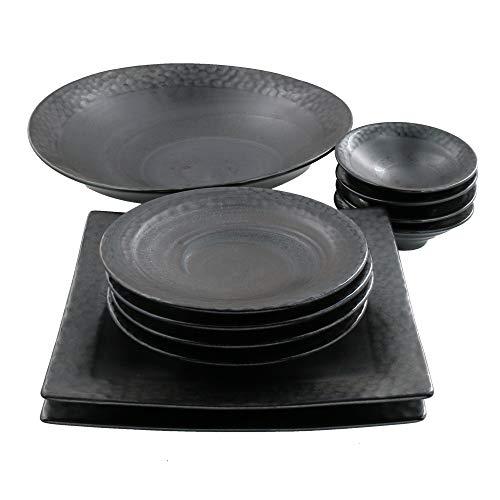 テーブルウェアイースト (送料無料)モダン和食器 フォルテシリーズ 黒食器 和食器 食器セット