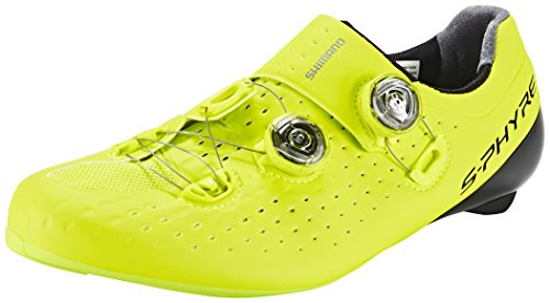SHIMANO SH-RC9Y – Chaussures – Jaune Taille 42 2017