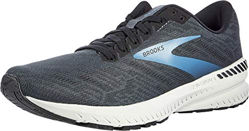 Brooks Men's Ravenna 11, Black/Blue, 10.5 D (M)