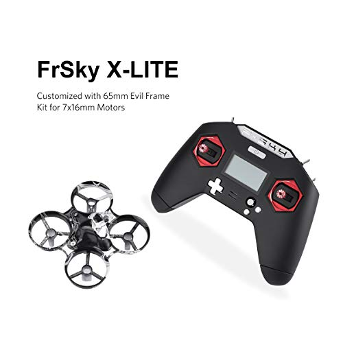 FrSky Taranis Transmitter X-Lite 2.4GHz ACCST 16CH RC Transmitter Black for RC Racing Drone FPV Multicopter …