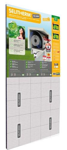 SELITHERM - Rollladenkasten-Dämmung Komplett-Set für optimale Dämmung 13mm