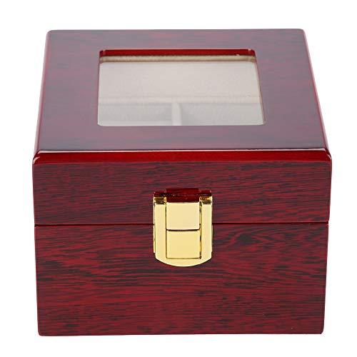 2 grilles support de montre vitrine durable de montre-bracelet en bois avec vernis de cuisson pour tenir les montres