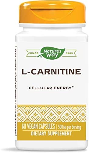 Max 50% OFF cheap Nature's Way L-Carnitine 500 60 MG Vcaps