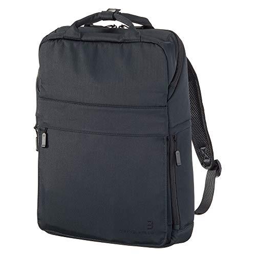 コクヨ ビジネス リュック 立てる バッグ THIRD FIELD 13.3インチ ネイビーブラック TFD-B11BD