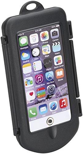 hr-imotion universal wasserdichte Fahrradhalterung / E-Scooter kompatibel mit z. B. Apple iPhone XR [Größe: L (bis 6.1