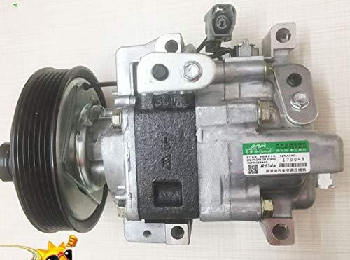 GOWE Bomba de compresor de aire acondicionado para Panasonic Mazda 3 MZR MPS ATENZA 1.8 2.0 2.3 H12A1AJEL GJ6A61K00F H12A1AF4DW GJ6A61K00C