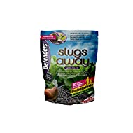 Defenders Slugs Away Wool Pellets (Slug Deterrent, Protect Gardens and Plants), 5 Litres, Grey