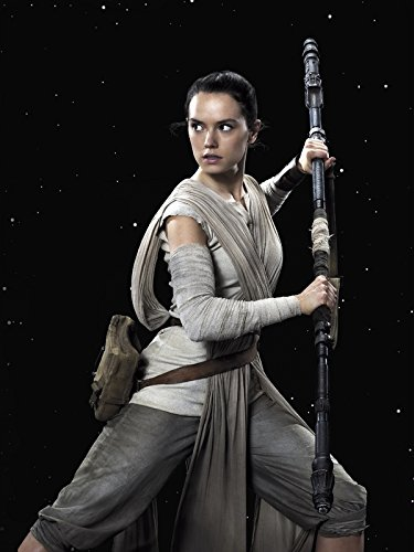 Import Posters Star Wars Episode 7 : The Force Awakens – Rey – US Textless Movie Wall Poster Print - 30CM X 43CM VII