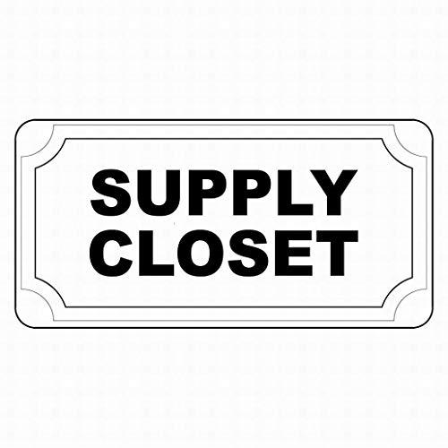 EstherMi19 Suministro de armario negro señales de advertencia de metal, señal de propiedad privada, señal de aviso de seguridad, signo de decoración para el hogar