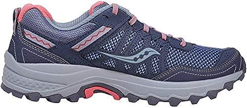 Saucony Women's Grid Excursion TR12 Sneaker, Grey/Pink, 10 M US