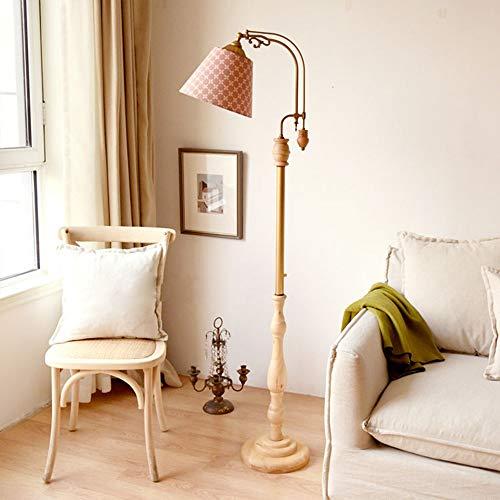 fengcheng Lámpara de pie de la Sala Dormitorio de la lámpara de IKEA Estilo Alta lámpara de Mesa Creativa Vertical Caliente (Color : C)
