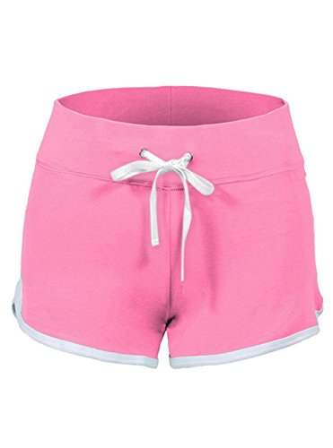 SwissWell Femme Short de Sport Élastique Stretch Yoga...
