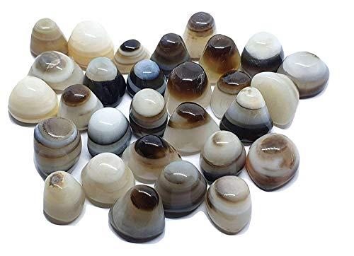 Ágata Shiva's Ojo Gema Único Pequeño Cristal Protección Piedra en Caja Gema (una Escogido en Al Azar )