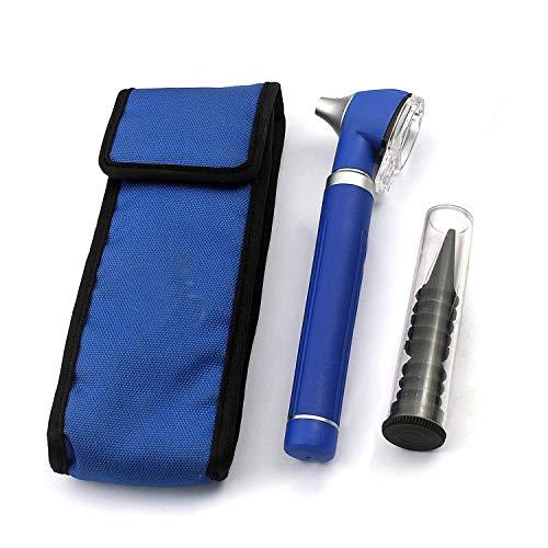OdontoMed2011® LED Pocket Mini Otoscope Set Blue Color ODM