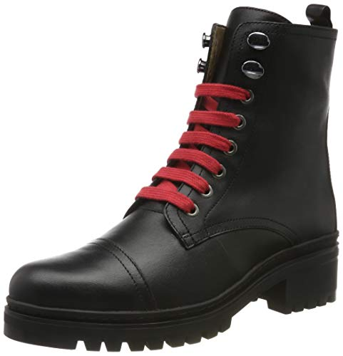 Unisa Damen IBA_CLF Combat Boots, Schwarz (Black Black), 38 EU
