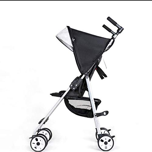 Affordable ETERLY Ultra-Light, Easy to Fold, Sit and Lie in Portable Children's Handcart Pocket Umbr...